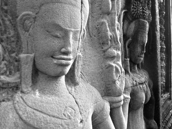 angkor wat face 20 Detail Photos of Angkor Wat