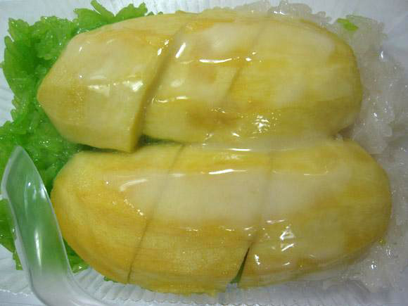 rice thai style tropical dessert khao lam is sticky rice and thai easy ...