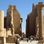karnak temple 150x150 Photo: Ancient Hypostyle Hall at the Temple of Karnak