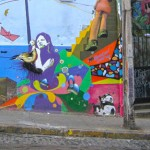 Photo Favorite: Colorful Wall Mural in Valparaiso, Chile
