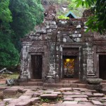 Visiting Wat Phou (Ancient Temple Complex) in Champasak, Laos