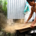 Photo Favorite: Sifting Rice For Dinner at The Rice Terraces of Batad