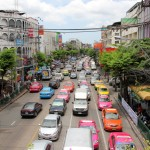 Photo Favorite: Colorful Traffic of Bangkok