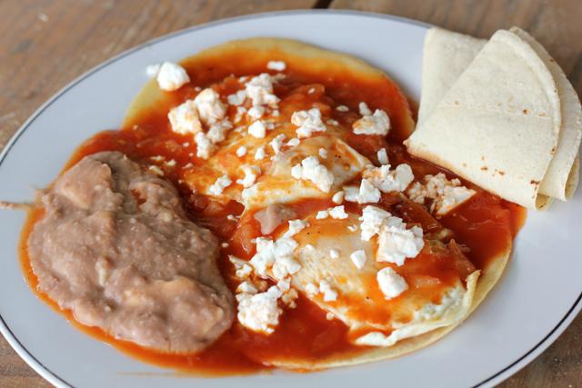 Huevos Rancheros Con Chorizo Mexican Huevos ...