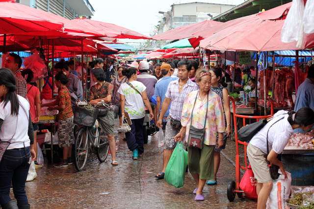 Shopping Markets in Bangkok