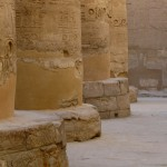 Photo: Ancient Hypostyle Hall at the Temple of Karnak