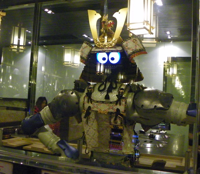 Eating At Hajime Robot Restaurant In Bangkok Thailand