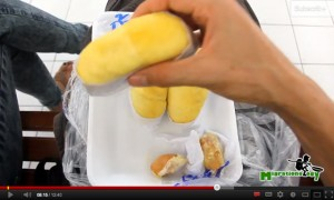 Precious loaves of succulent durian at Bangkok's Or Tor Kor Market
