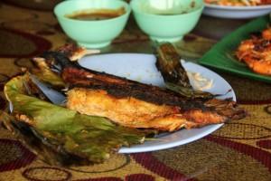 Ikan Pari Bakar - Grilled Stingray