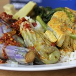 nasi campur 150x150 VIDEO: Malaysian Nasi Lemak   Fatty Rice, Heavenly Toppings