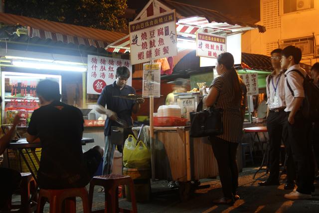 Pudu Hawker Street in Kuala Lumpur, Malaysia