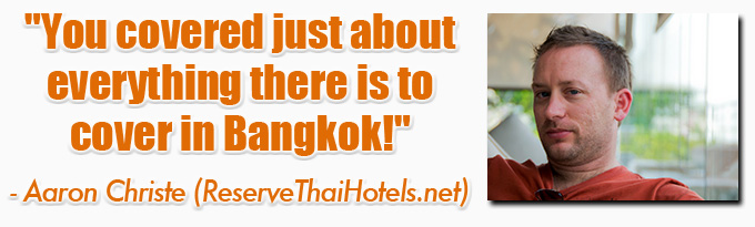 aaron christe eBook: 101 Things To Do In Bangkok