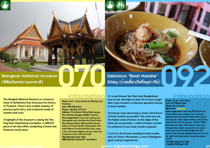 bangkok 101 eBook: 101 Things To Do In Bangkok