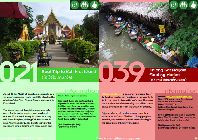 bangkok attractions eBook: 101 Things To Do In Bangkok