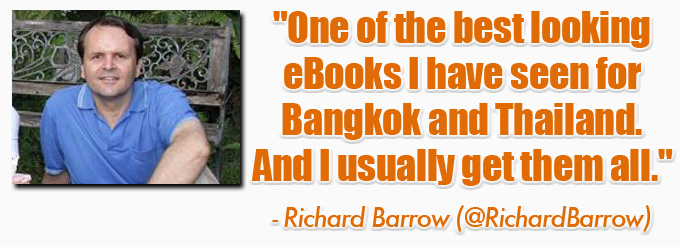 richard barrow 2 eBook: 101 Things To Do In Bangkok