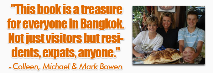 testimonial bowen family eBook: 101 Things To Do In Bangkok