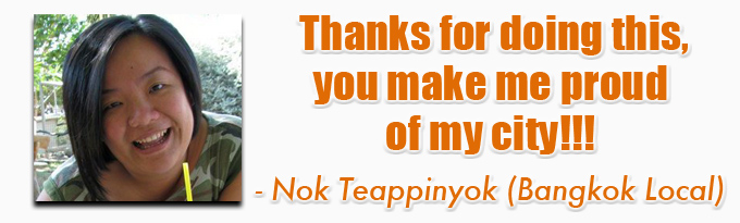 testimonial nok eBook: 101 Things To Do In Bangkok