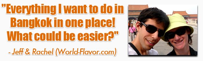 testimonials world flavor eBook: 101 Things To Do In Bangkok