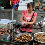 PHOTO: Chinese Chestnut Vendor