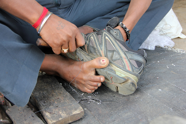 How to fix your shoes in India
