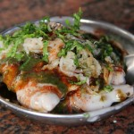 Tasty Indian Chaat at the Kashi Chaat Bhandar in Varanasi