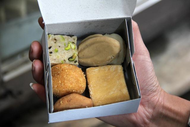 Indian desserts in Varanasi