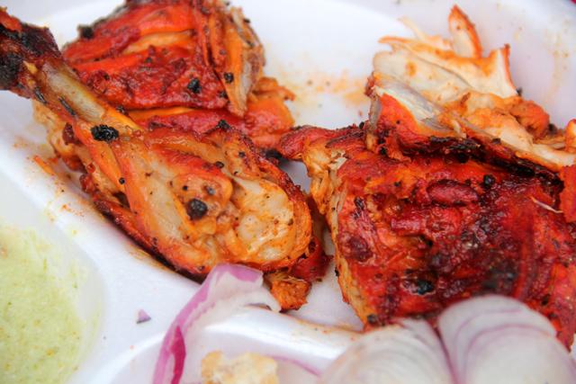 Tandoori Chicken in Agra, India