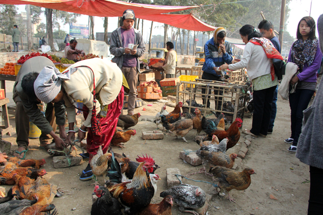 Market in Dimapur, Nagaland