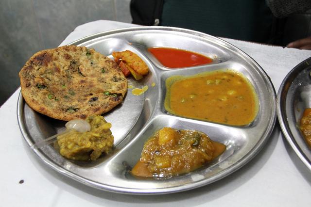 Gali Paranthe Wali in Delhi, India