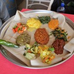 ethiopian vegetarian food 150x150 Irresistible Ethiopian Food at Grand Restaurant in Addis Ababa