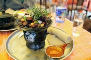 Ethiopian food