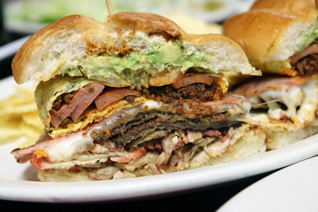 mexican tortas Los Reyes De La Torta   Every Type of Meat You Can Imagine in a Bun