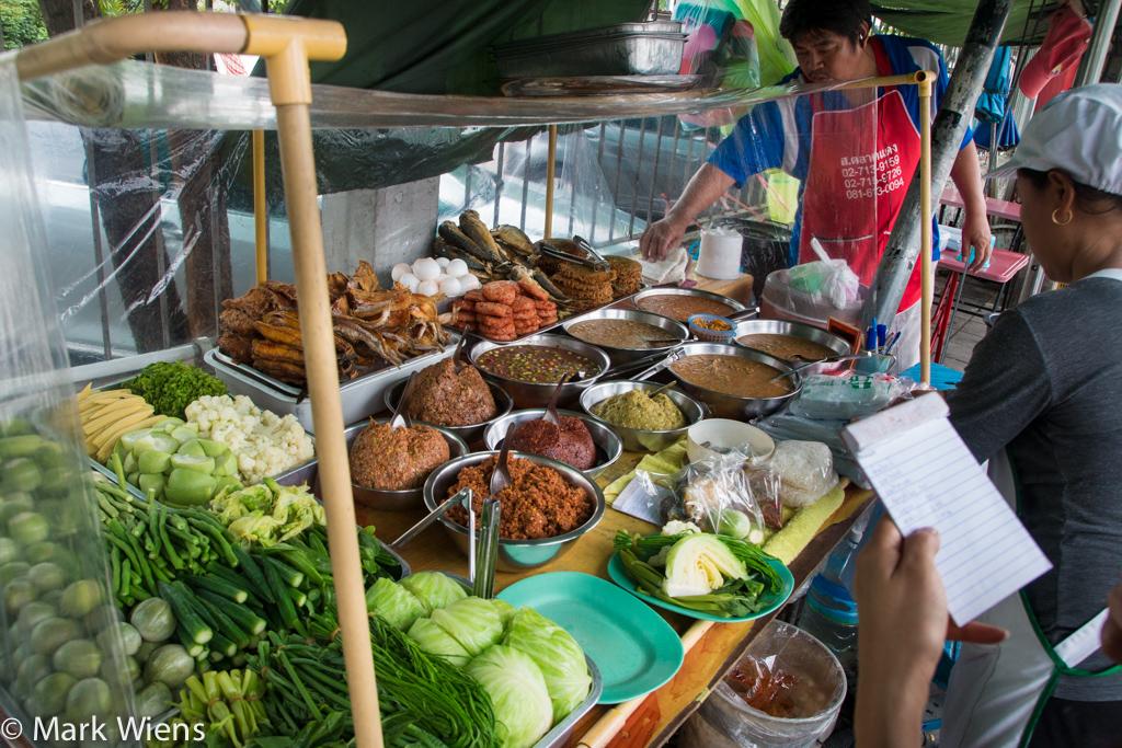 Thai nam prik (น้ำพริก)