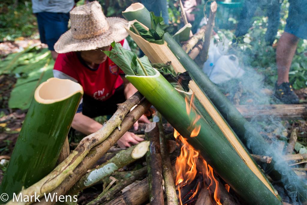 Akha Hill house tribe Chiang Rai