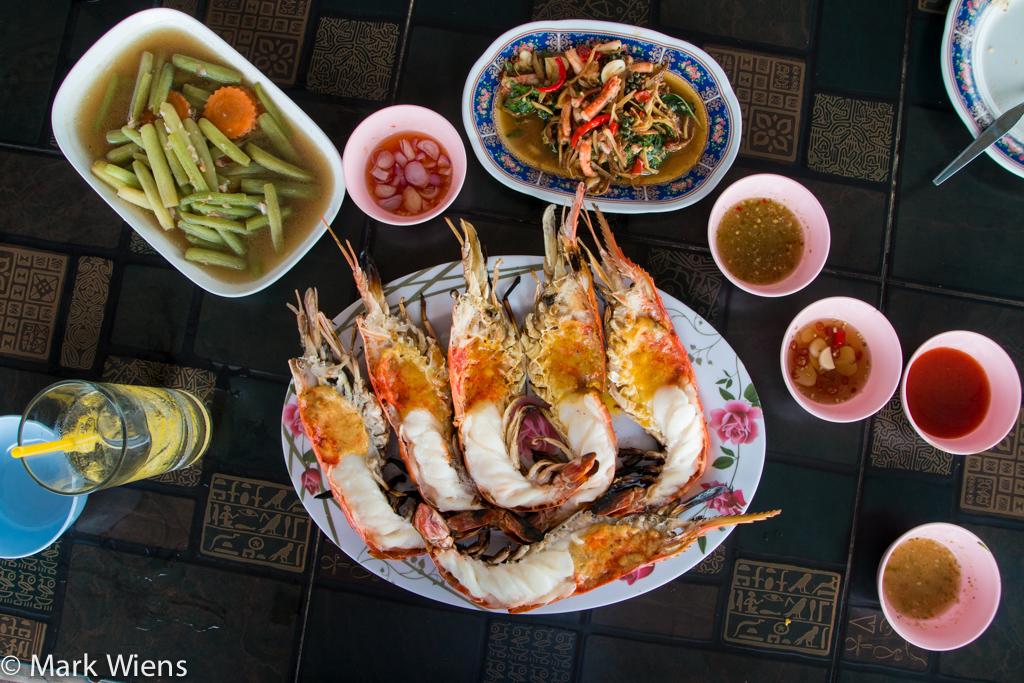 Goong Pao (กุ้งเผา)