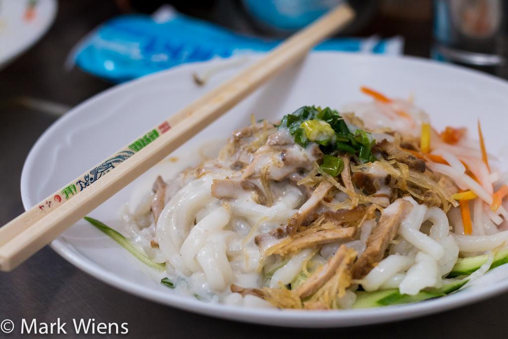 Vietnamese banh tam bi