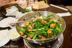 Chả cá Lã Vọng - fish in turmeric and dill