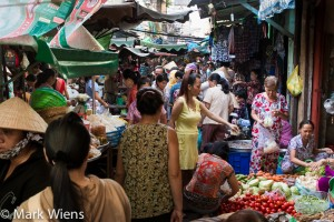 Morning market in Saigon