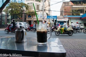 Vietnamese coffee - everywhere!