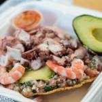 Mariscos 4 Vientos:  Fantastic Seafood Tostadas in Los Angeles