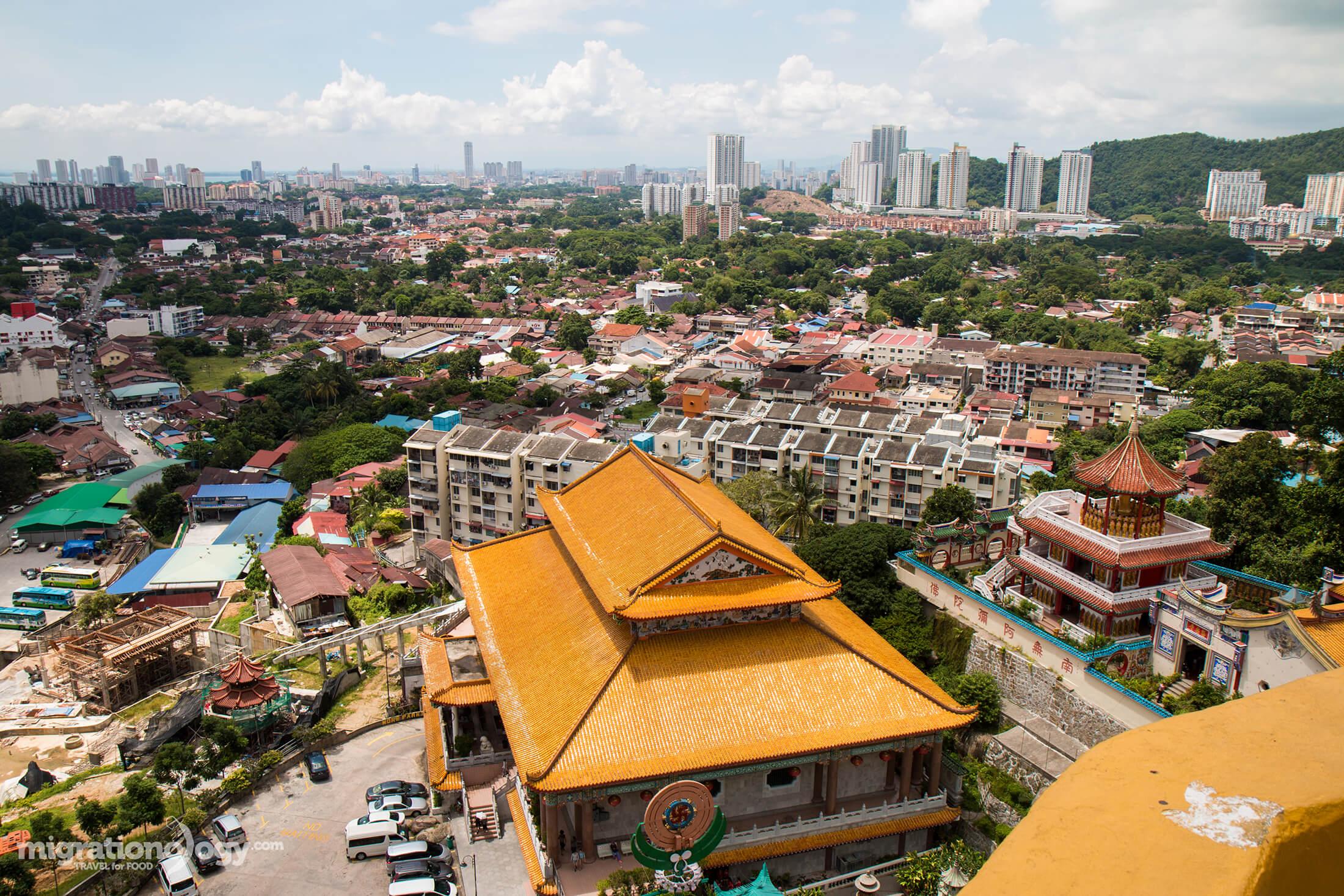 visiting Kek Lok Si temple