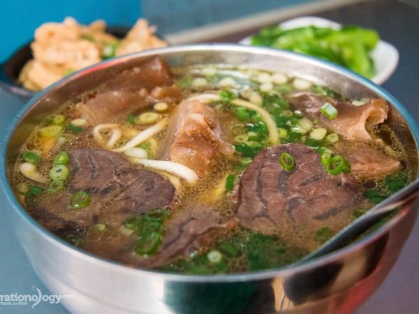 best beef noodles Taipei