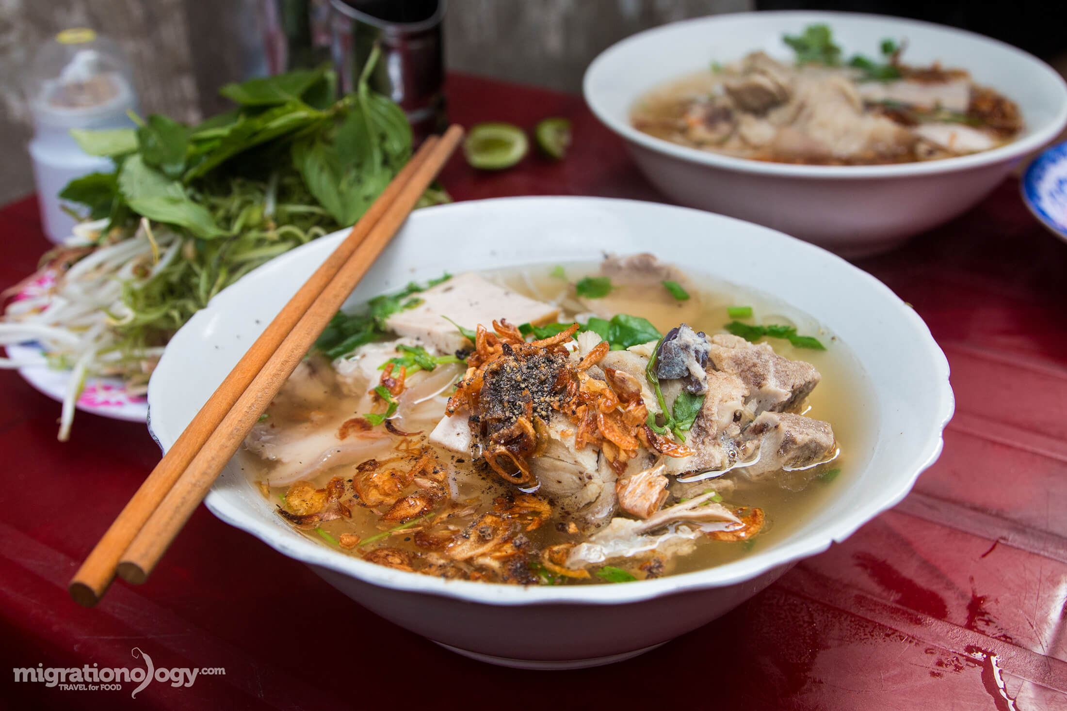 Bun Moc: Delicious Noodles Down an Alley in Saigon