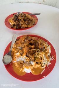Singapore curry rice