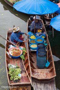 Thai floating markets