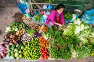 morning market Luang Prabang