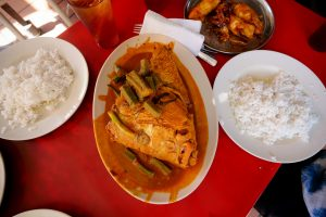 Wonderful local style curry