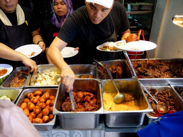 The name of the food you need to try here is Nasi Lemak, and it is one of the most well loved dishes in the entire Malay Peninsula
