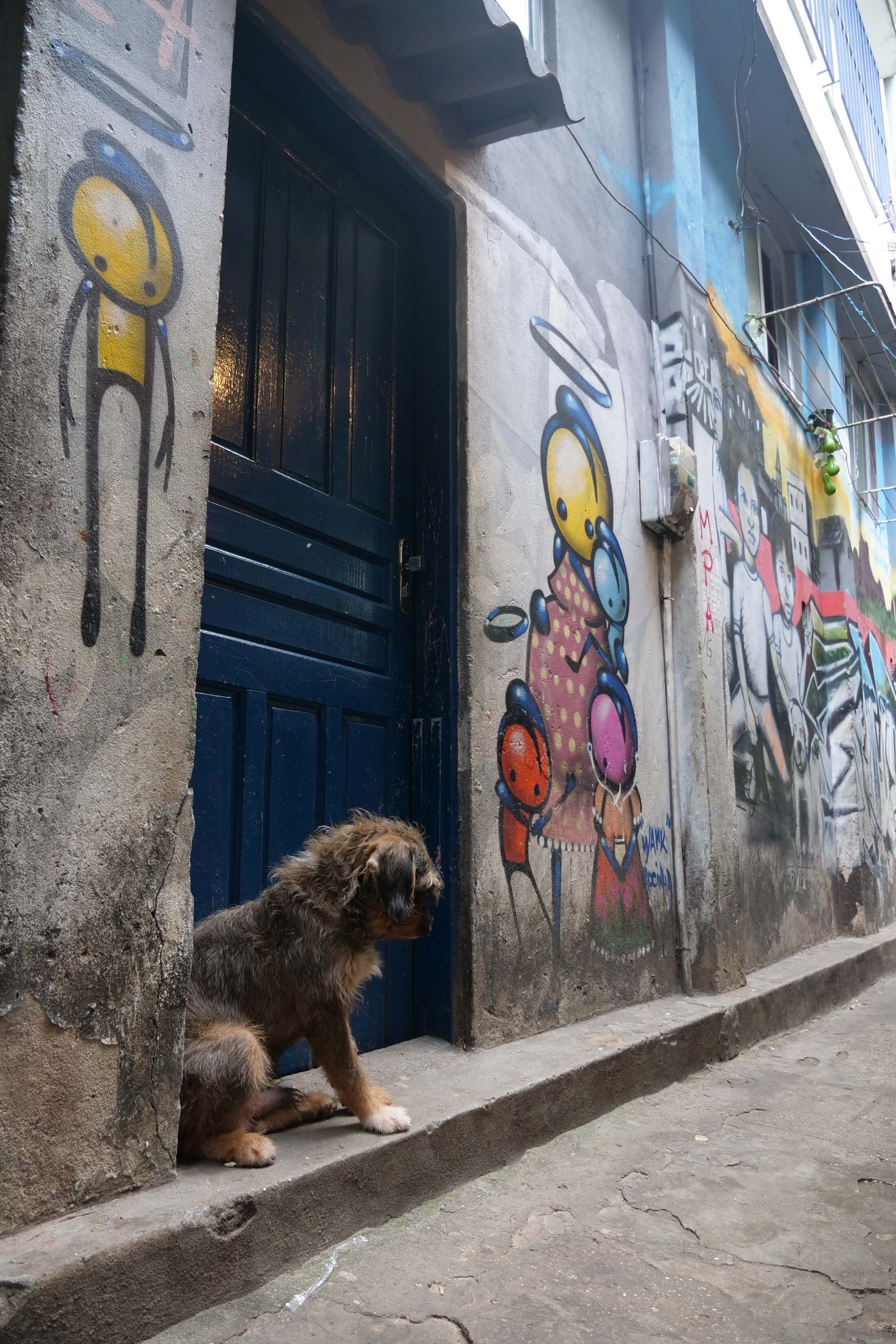 Brazils favelas are places of incredible artwork, its just bare for all to see