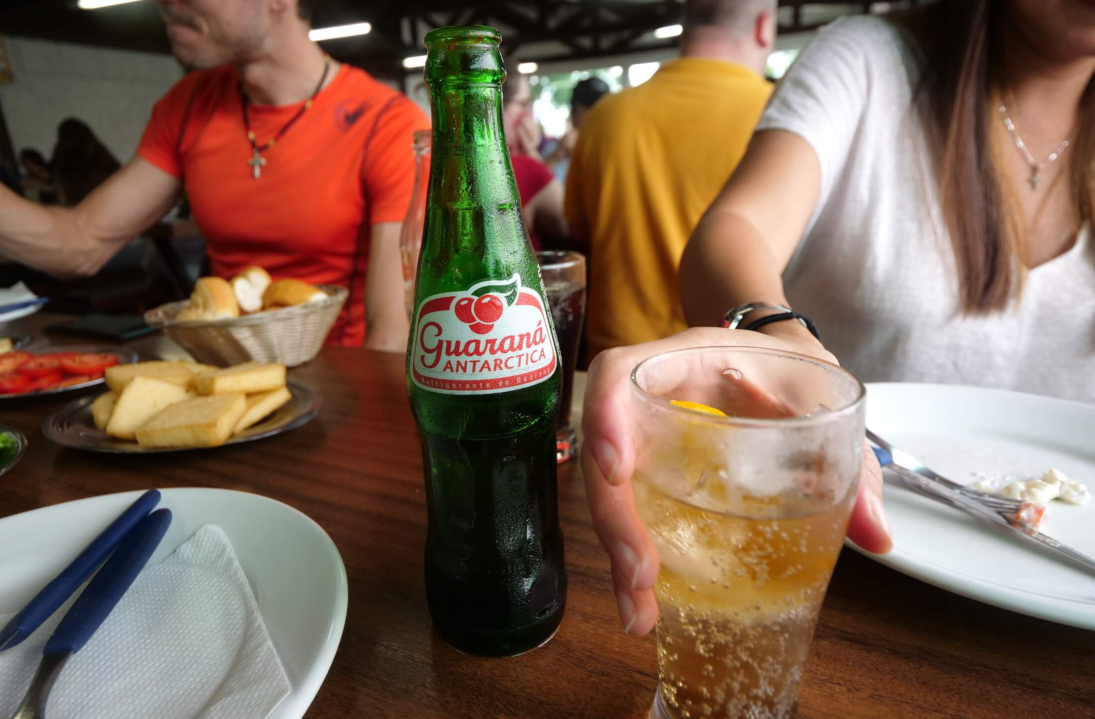 Try this Guarana Soft Drink, sweet, crisp, and refreshing.